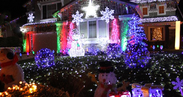 the khts 2014 holiday light tour names winners hometown station khts fm 981 am 1220
