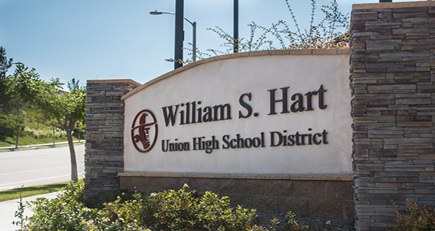 William S. Hart School District office sign