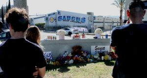 Saugus High Shooting_Memorial